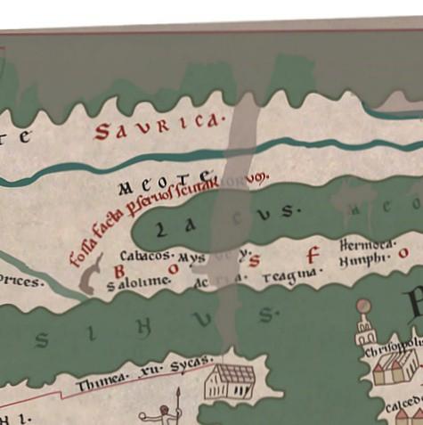 Tabvla Pevtingeriana List Of Roman Locations